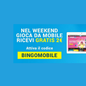 bingo weekend