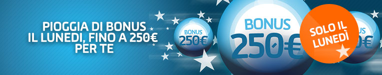 bonus fino 250 euros gioco digitale