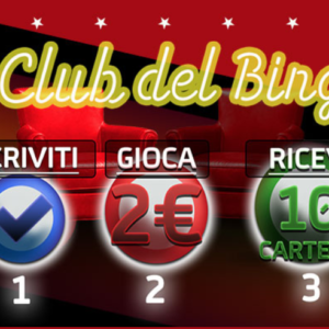 club di bingo gioco digitale