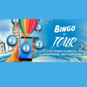 bingo on tour gioco digitale