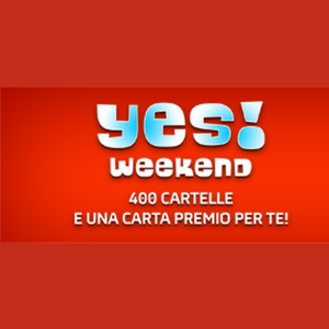 yes weekend gioco digitale